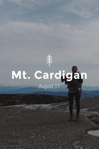 Mt. Cardigan August 17
