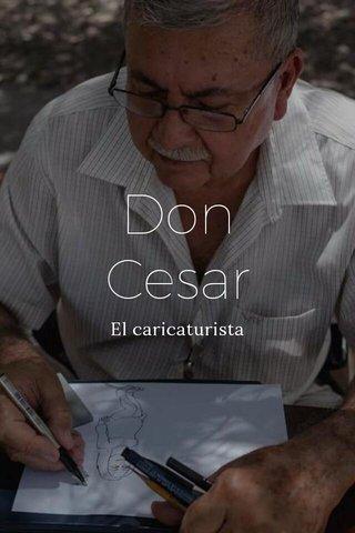 Don Cesar El caricaturista