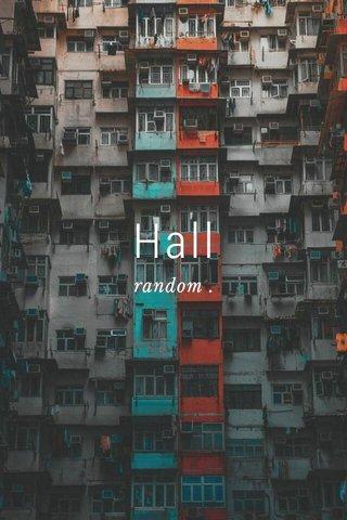 Hall random .