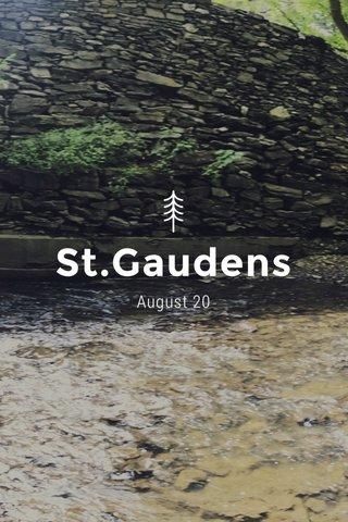 St.Gaudens August 20