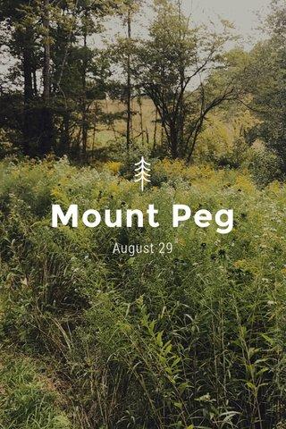 Mount Peg August 29