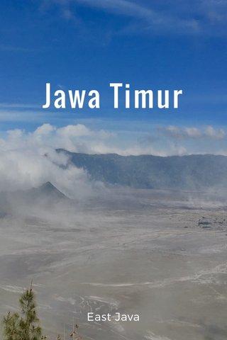 Jawa Timur East Java