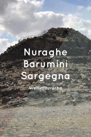 Nuraghe Barumini Sargegna Weltkulturerbe