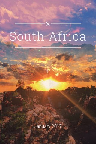South Africa January 2017