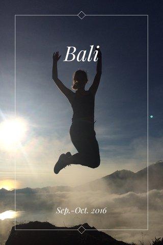 Bali Sep.-Oct. 2016
