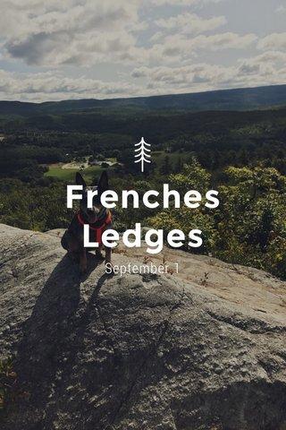 Frenches Ledges September 1