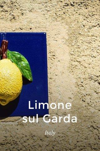 Limone sul Garda Italy