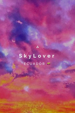 SkyLover ECUADOR 🇪🇨