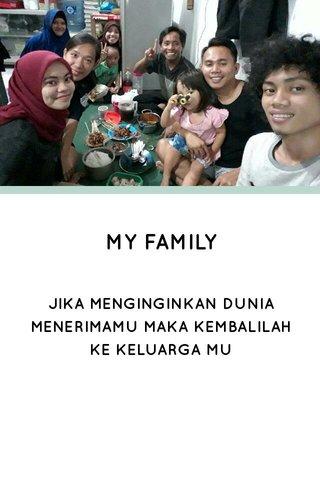 MY FAMILY