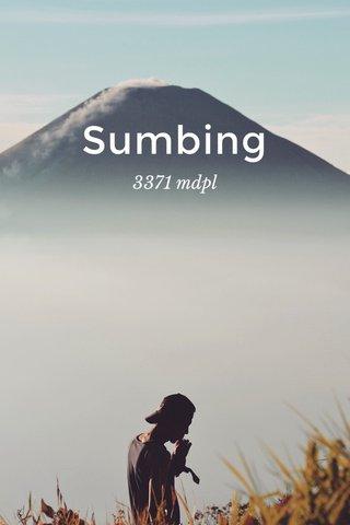 Sumbing 3371 mdpl