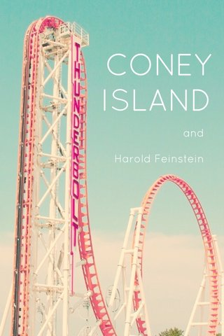 CONEY ISLAND and Harold Feinstein