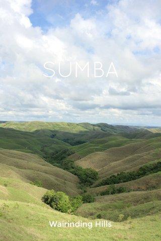 SUMBA Wairinding Hills