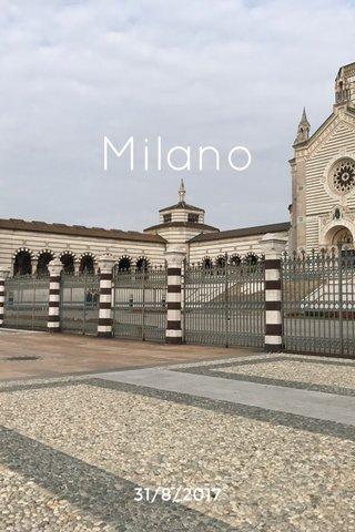 Milano 31/8/2017