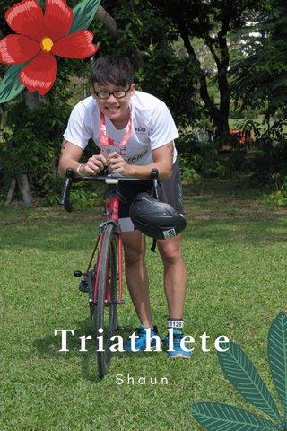 Triathlete Shaun