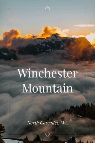 Winchester Mountain North Cascades, WA