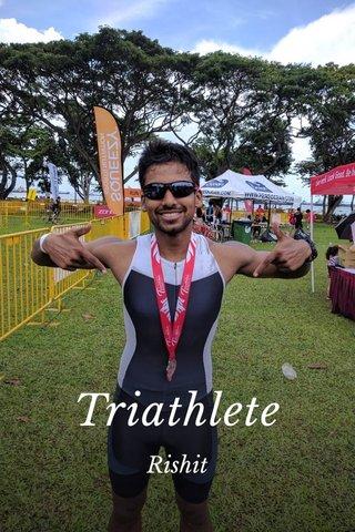 Triathlete Rishit