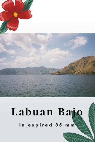 Labuan Bajo in expired 35 mm