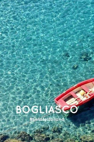 BOGLIASCO #EstateItaliana