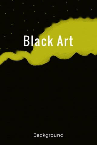 Black Art Background