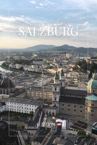 SALZBURG AUSTRIA 🇦🇹