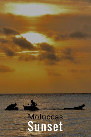 Sunset Moluccas