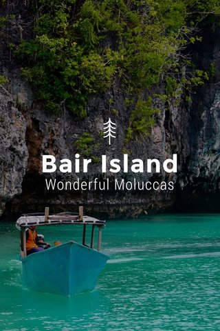 Bair Island Wonderful Moluccas