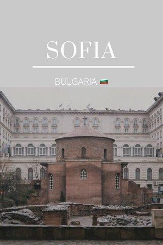 SOFIA BULGARIA 🇧🇬