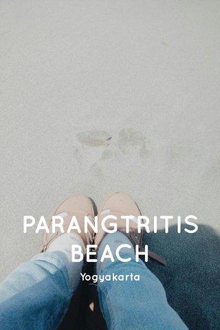 PARANGTRITIS BEACH Yogyakarta