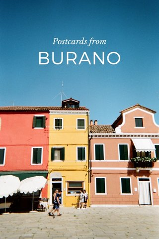 BURANO Postcards from