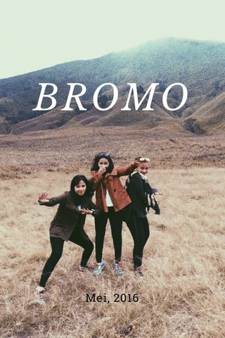 BROMO Mei, 2016