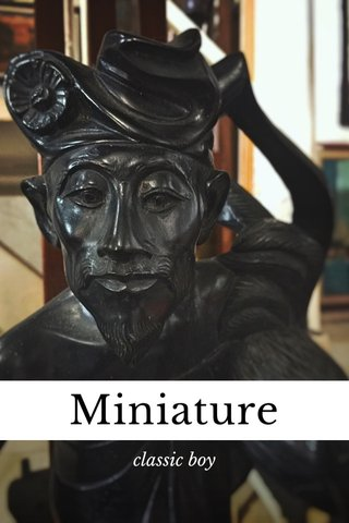 Miniature classic boy