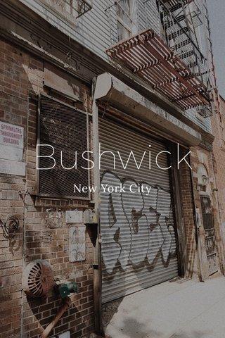 Bushwick New York City