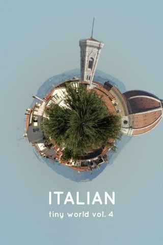 ITALIAN tiny world vol. 4