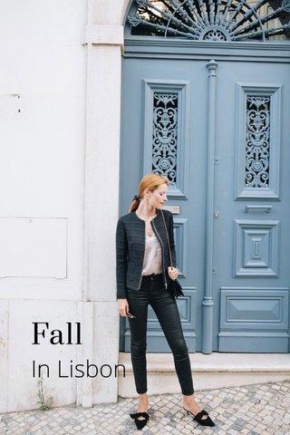Fall In Lisbon
