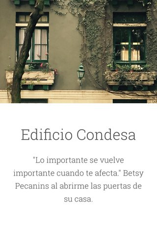 Edificio Condesa