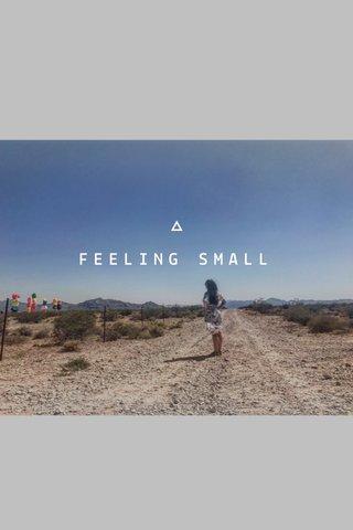 FEELING SMALL