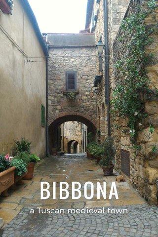 BIBBONA a Tuscan medieval town