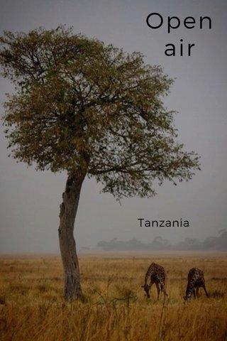 Open air Tanzania
