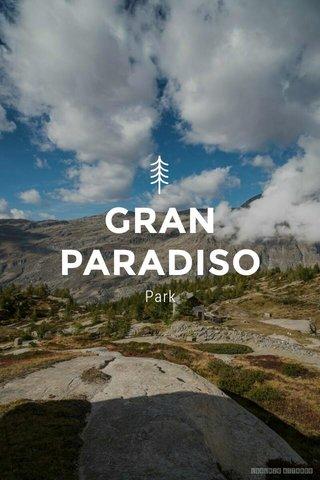GRAN PARADISO Park