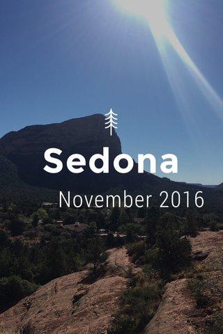 Sedona November 2016