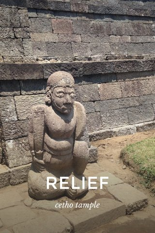 RELIEF cetho tample