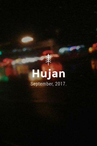 Hujan September, 2017.