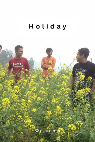 Holiday Welcome