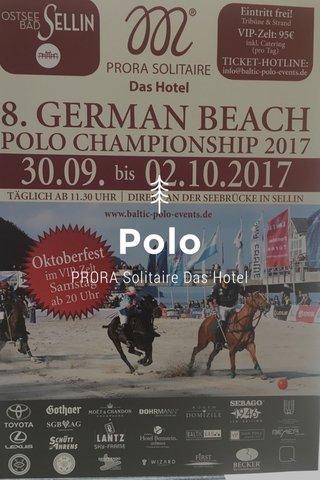 Polo PRORA Solitaire Das Hotel