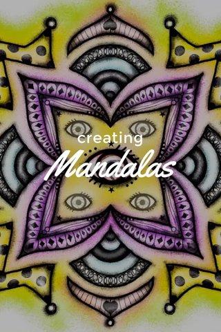 Mandalas creating