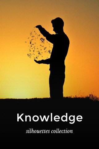 Knowledge silhouettes collection