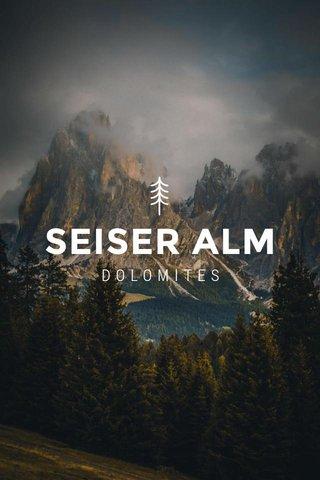 SEISER ALM DOLOMITES
