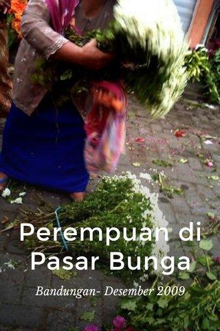 Perempuan di Pasar Bunga Bandungan- Desember 2009