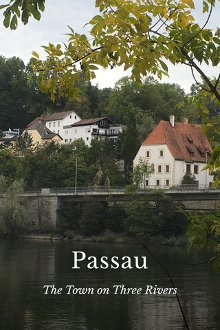 Passau The Town on Three Rivers