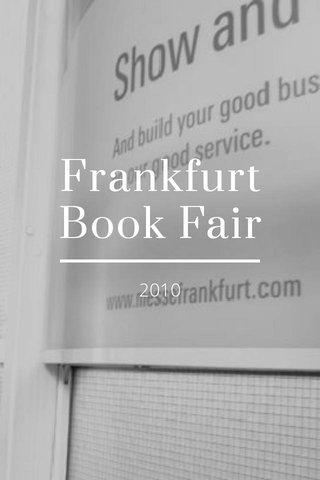Frankfurt Book Fair 2010